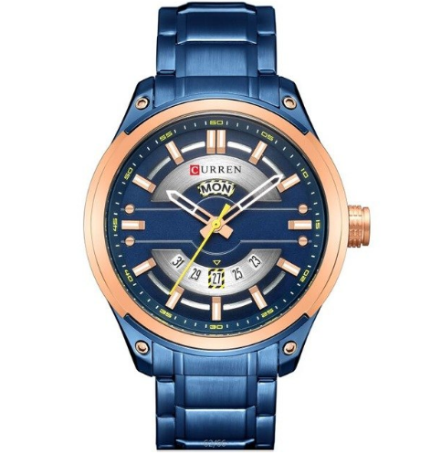 0f9ccd06c12 Relógio masculino de pulseira de aço
