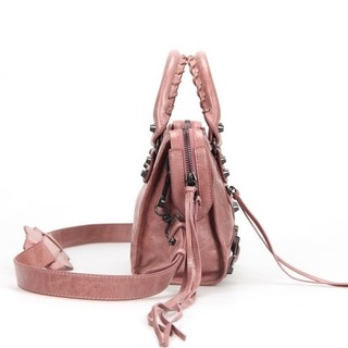 Bolsa Balenciaga Classic Mini City Peach na internet
