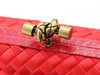 Bolsa Bottega Veneta Clutch Rose Red na internet