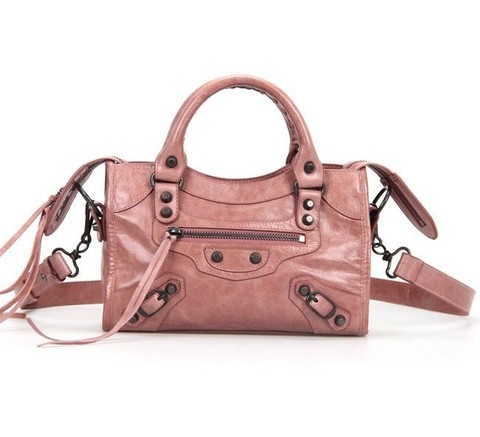 Bolsa Balenciaga Classic Mini City Peach