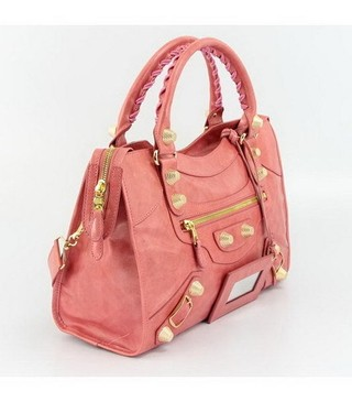 Imagem do Bolsa Balenciaga Classic City Peach/Gold