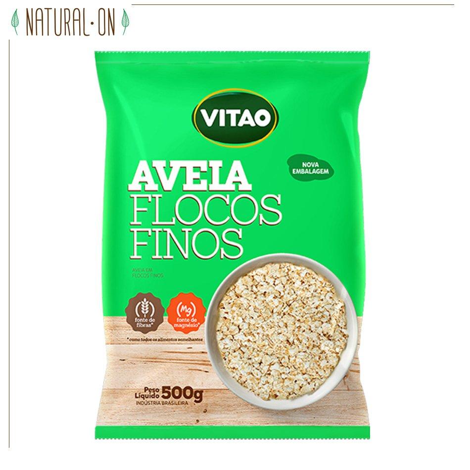 AVEIA EM FLOCOS FINOS - VITAO