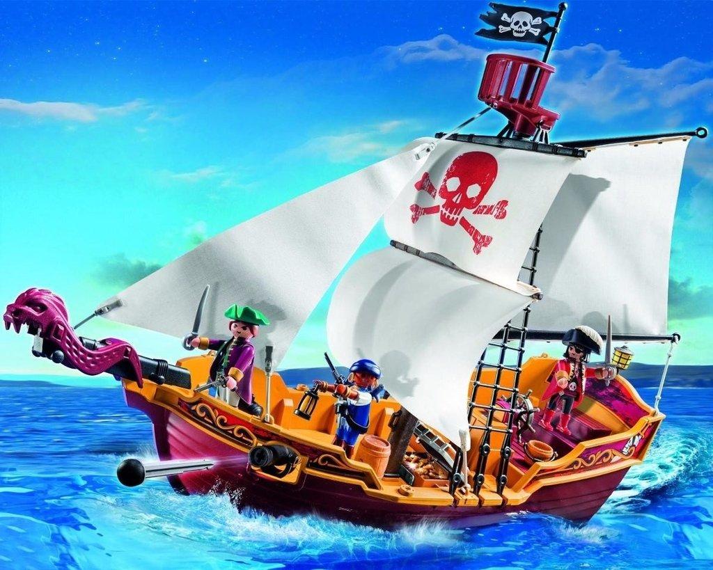 Playmobil barco pirata c digo 5618 for Barco pirata playmobil