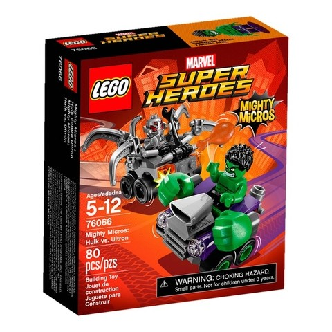 Lego 76066 Super Heroes Mighty Micros Hulk Vs Ultron