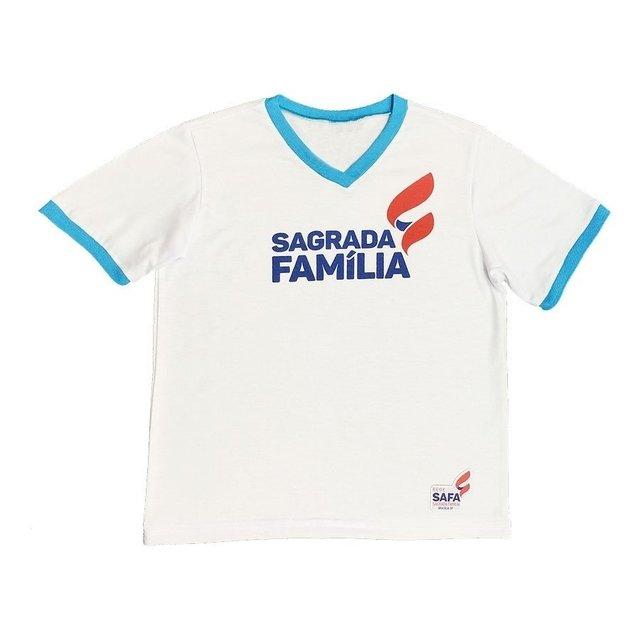 BLUSA DIARIA GOLA V EDUCAÇÃO INFANTIL - SAGRADA FAMÍLIA 5676ad534903a
