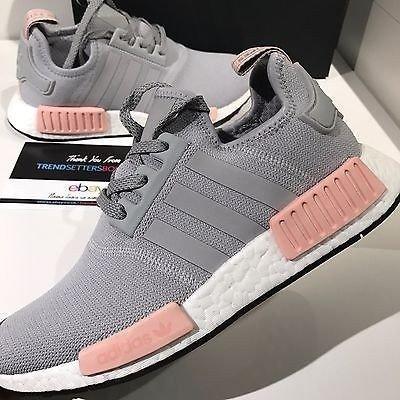 adidas cinza e rosa