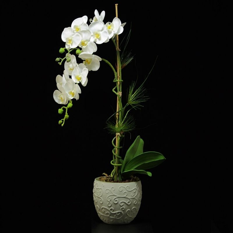 Arranjo Orquídea artificial 0,75 cm