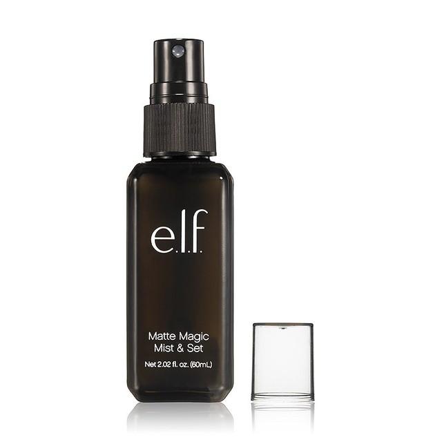 Spray fijador mate fija maquillaje como FIX + de mac