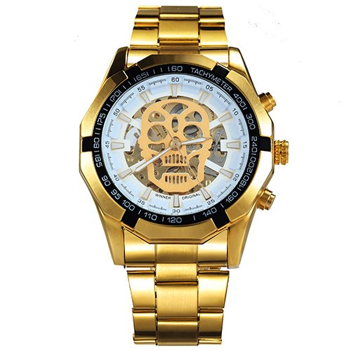 d3101900af4 Relógio Automático masculino dourado - Mayortstore