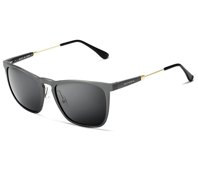 Óculos de Sol Masculino retrô alumínio lentes polarizadas 912222bf9e