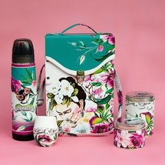 Set de Mate - FRIDA FLOWERS acero Lumilagro