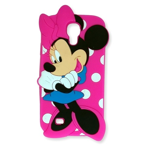 Animated Samsung S4 Minnie Lunares Rosa