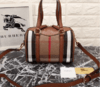 Bolsa Alchester Handbag in Haymarket Check and Leather - PREMIUM