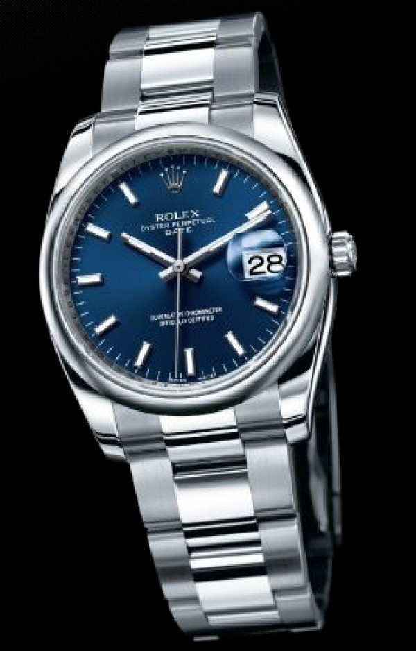 41c2363204f ... Relógio ROLEX DateJust Mostrador Azul. Esgotado. 0%. OFF