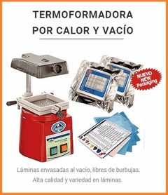 Termoformadora Sabilex Estampadora Vacupress Mec Dental Lab - Ayacucho Dental