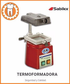 Termoformadora Sabilex Estampadora Vacupress Mec Dental Lab