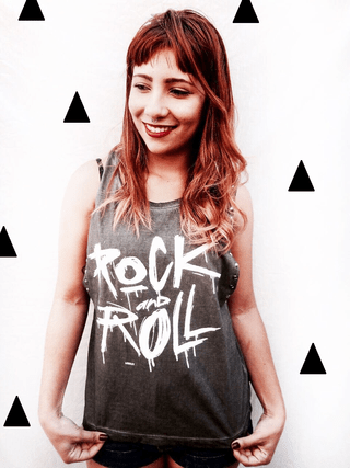 Camisa Rock and Roll