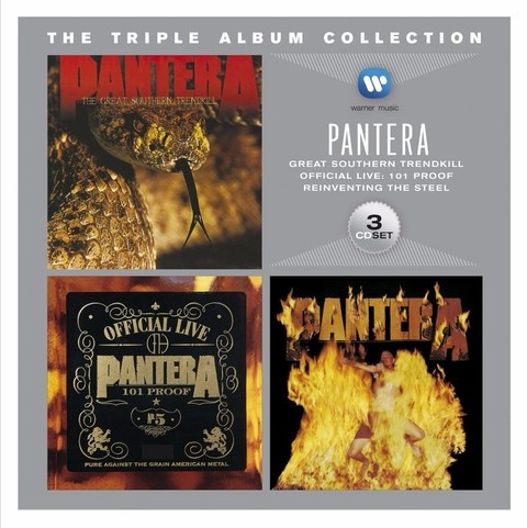 Pantera - The Triple Album Collection