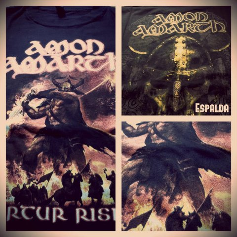 Remera Amon Amarth - Surtur Rising