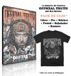 Official Truth: la historia de Pantera contada desde adentro. Por Rex Brown (con Remera)