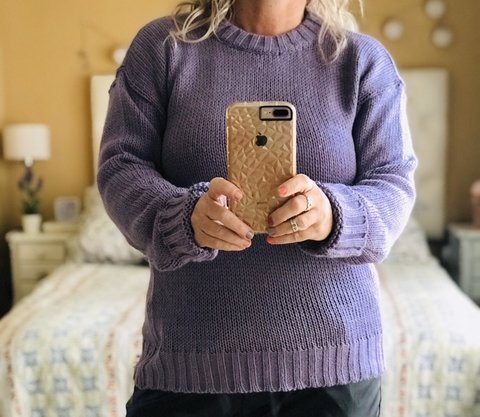 Sweater Ana Lavanda