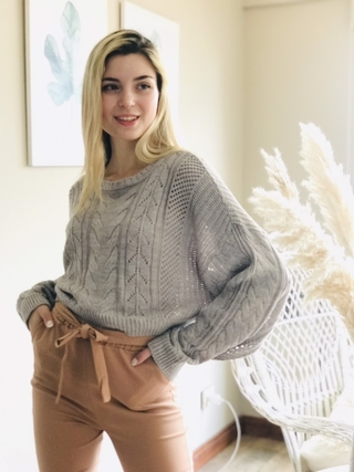Sweater Núñez Gris