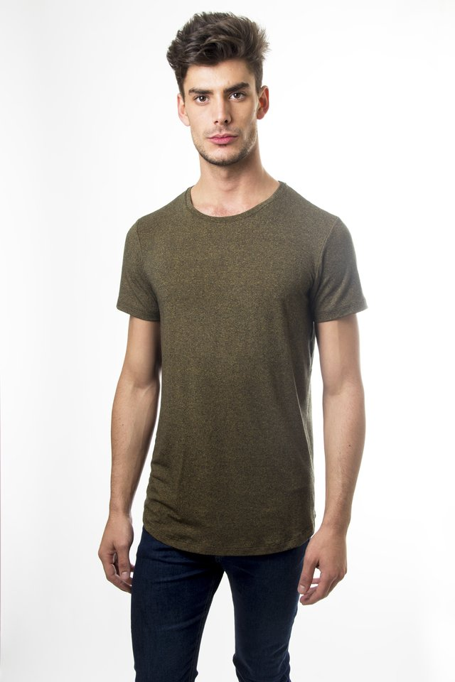 Remeron longfit Army gold - comprar online