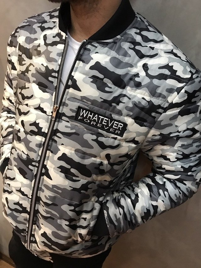 CAMPERA ARMY B&W en internet