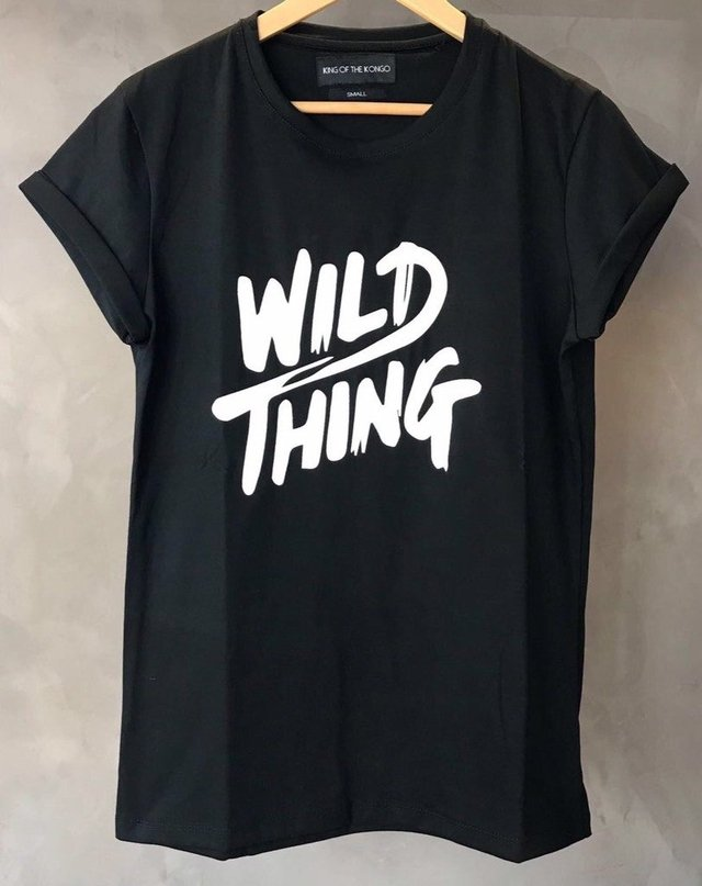 T-Shirt Wild Thing (Black)