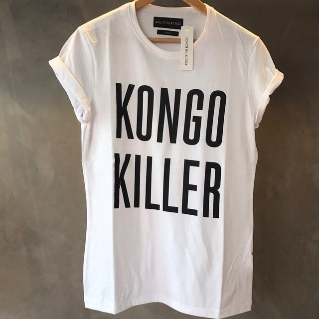 T-Shirt Kongo Killer (White)