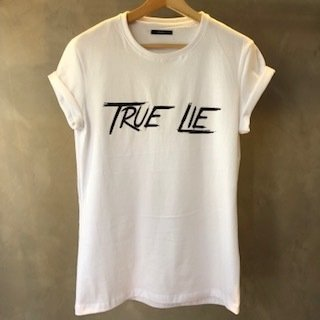 T-Shirt True Lie white