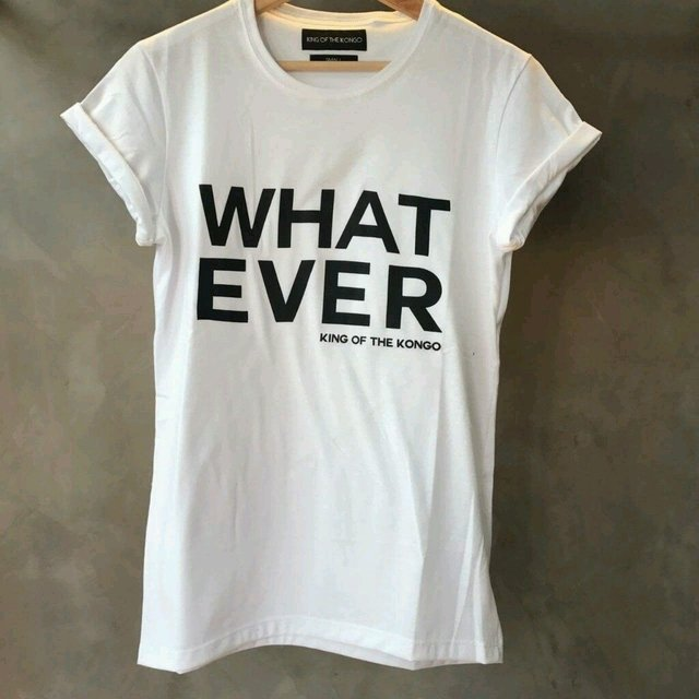 T-Shirt Whatever (White)
