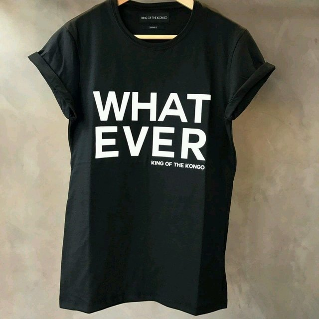 T-Shirt Whatever (Black)