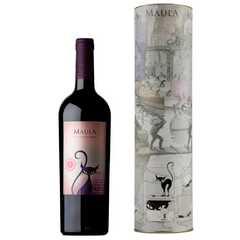 Maula Selected Barrel Malbec Estuche Individual