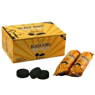 Carvão Pastilha Black King 40mm com 10