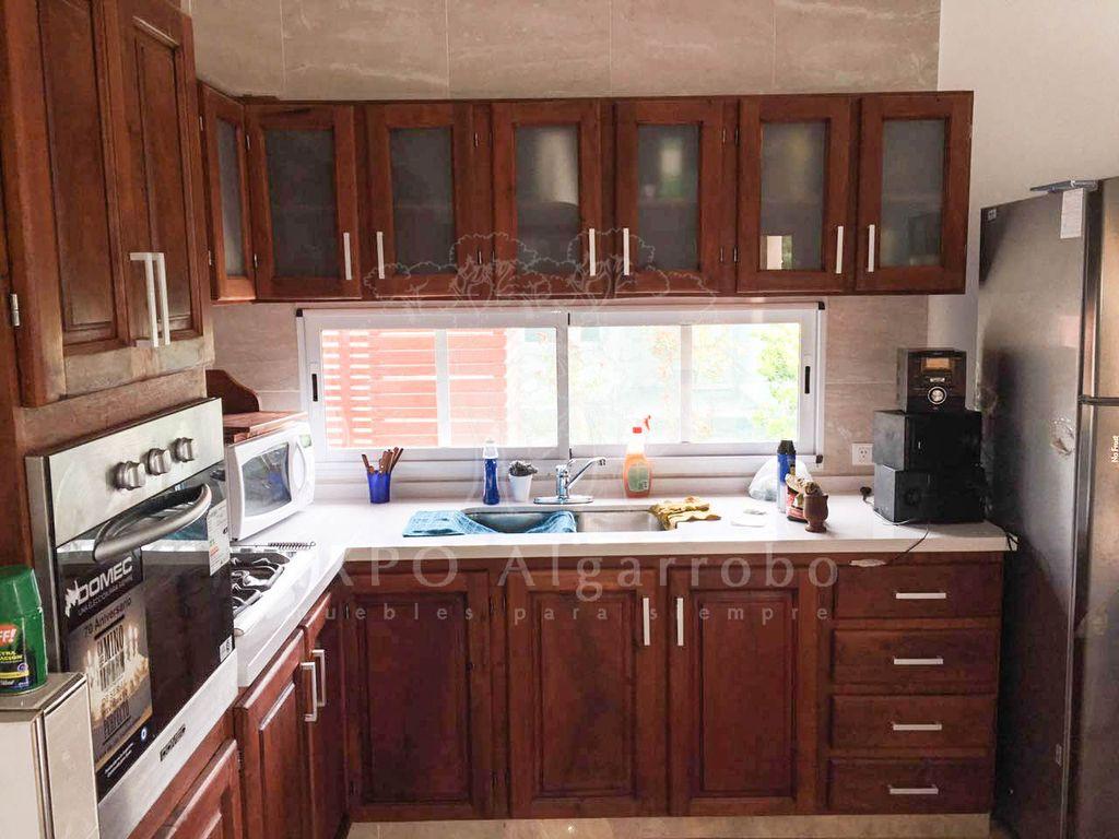 Muebles de cocina de algarrobo imagenes Mueble de algarrobo modular