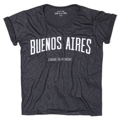 Remera Buenos Aires Gris Plata - RELAXED FIT