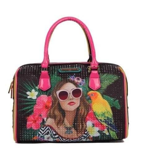 BOLSA BAÚ NICOLE LEE VG12746 VACATION GIRL IN PARADISO