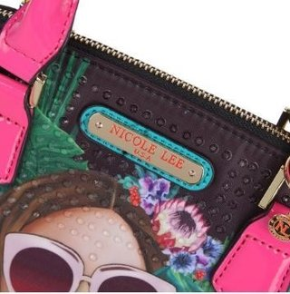 BOLSA BAÚ  NICOLE LEE VG12747 VACATION GIRL IN PARADISO