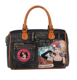 BOLSA BAÚ NICOLE LEE JS12320 HOLLYWOOD