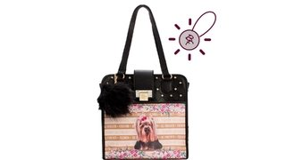 Bolsa Rafitthy Ref.:31.82103 Com Estampa York Fashion Stripes Preto