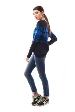 Sweater True  Blue en internet