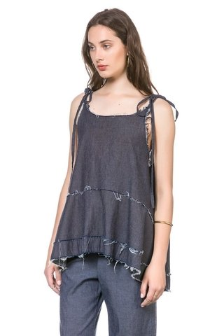 Musculosa Bar Denim en internet
