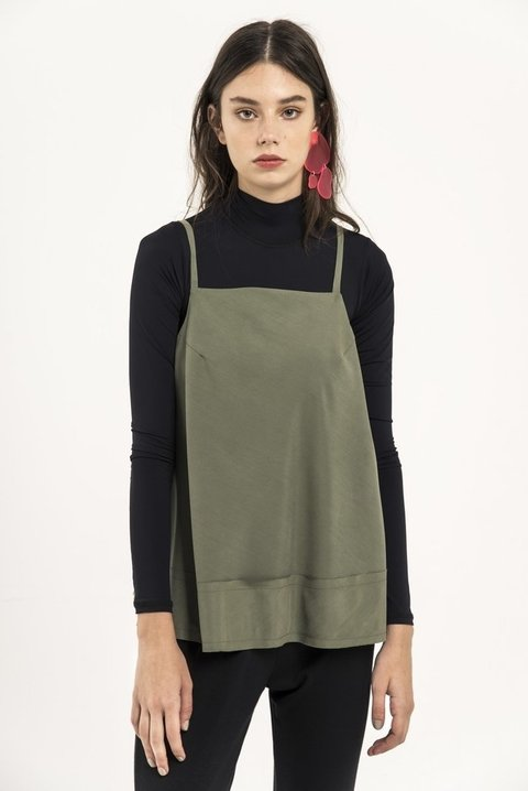 Musculosa Marquise Verde - comprar online