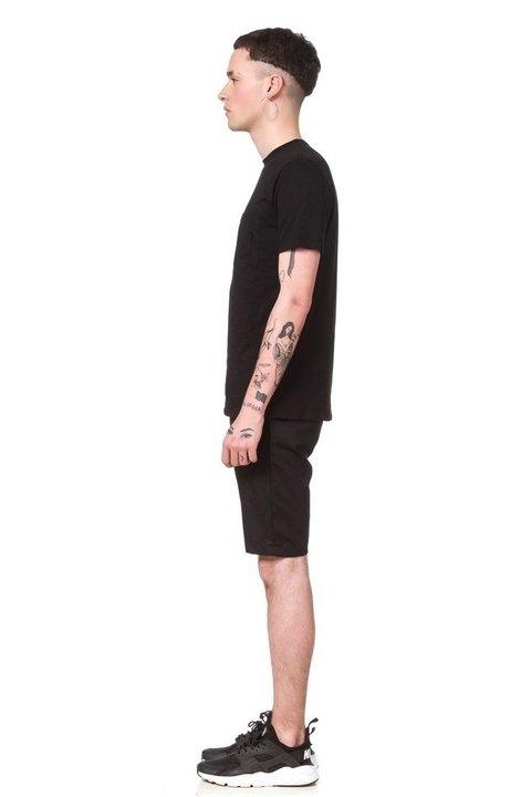Remera Pocket Negro - comprar online
