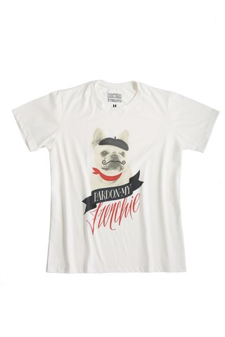 Camiseta - Buldogue Francês