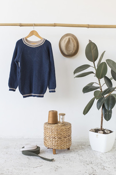 SWEATER INGLES AZUL en internet