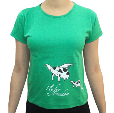 Camiseta - Fly for freedom - comprar online