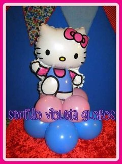 Globo Hello Kitty 14  Metalizado Lila en internet