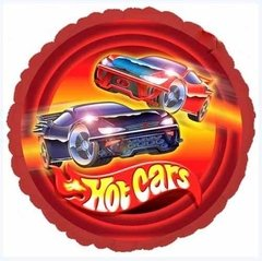 Globo Hot Cars Estilo Hot Wheels 22 Cm Para Aire